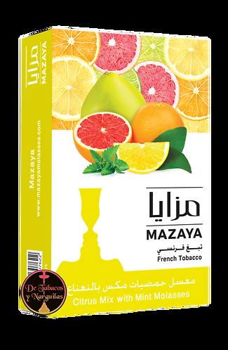 Citrus mix mint 50gr Mazaya