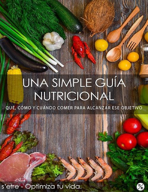 Una Simple Guía Nutricional (Descarga pdf)