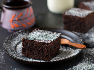 Gustazo vegano: Fit brownies de chocolate