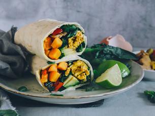 Burritos poderosos: Desayuno para llevar