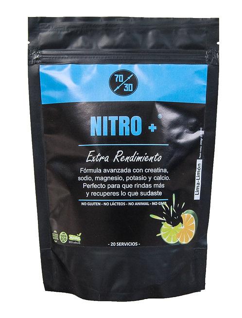 Nitro Plus - Extra rendimiento (350g - Lima Limón)