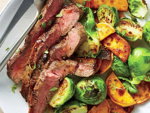 Carne a cocción lenta con verduras