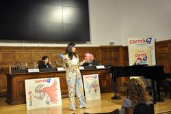 Actuació presentació Capità 47 - Laura Bernis Prat