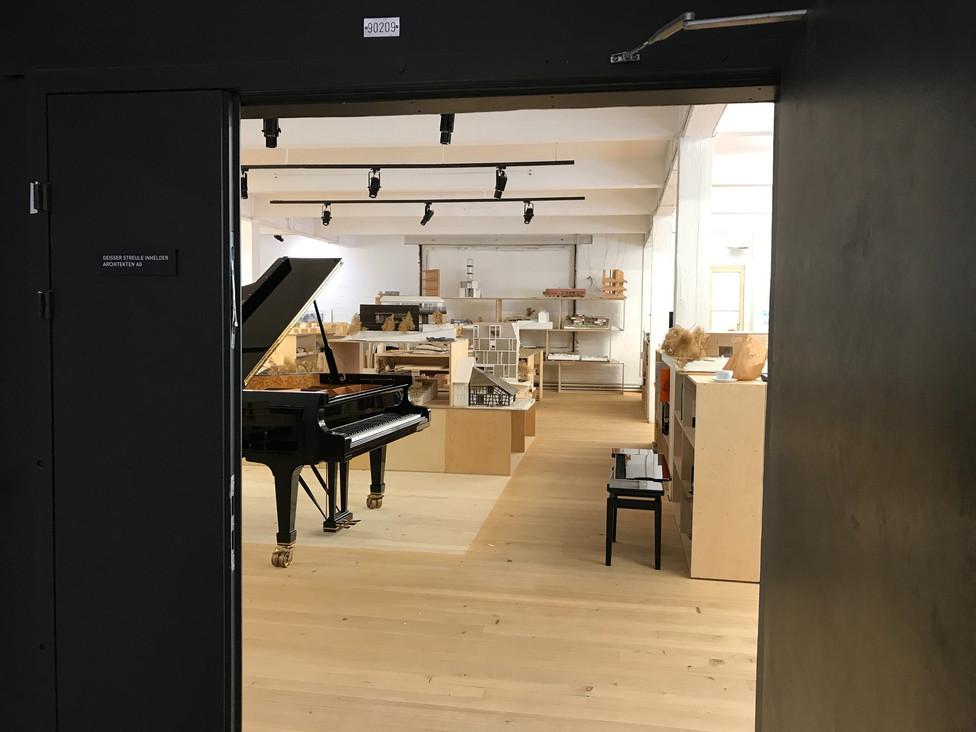 Fazioli 278 im GSI Architekten Büro