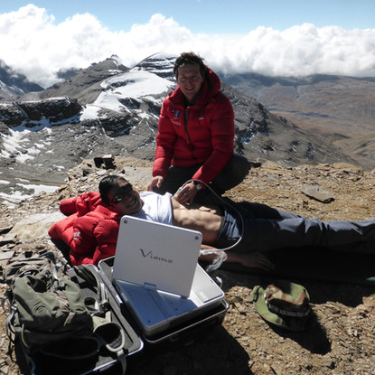 Extreme Echocardiography at 6000 m altitude