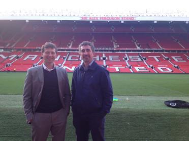 Dr Pieles & Prof Williams - Old Trafford