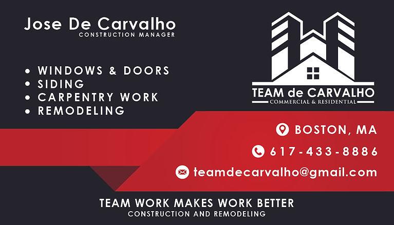 Team DeCARVALHO
