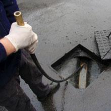 ECP drain-unblocking