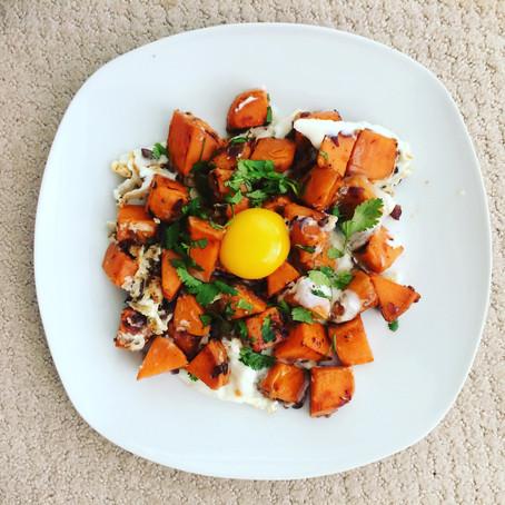 Morning Hash - de la patate douce au petit déjeuner