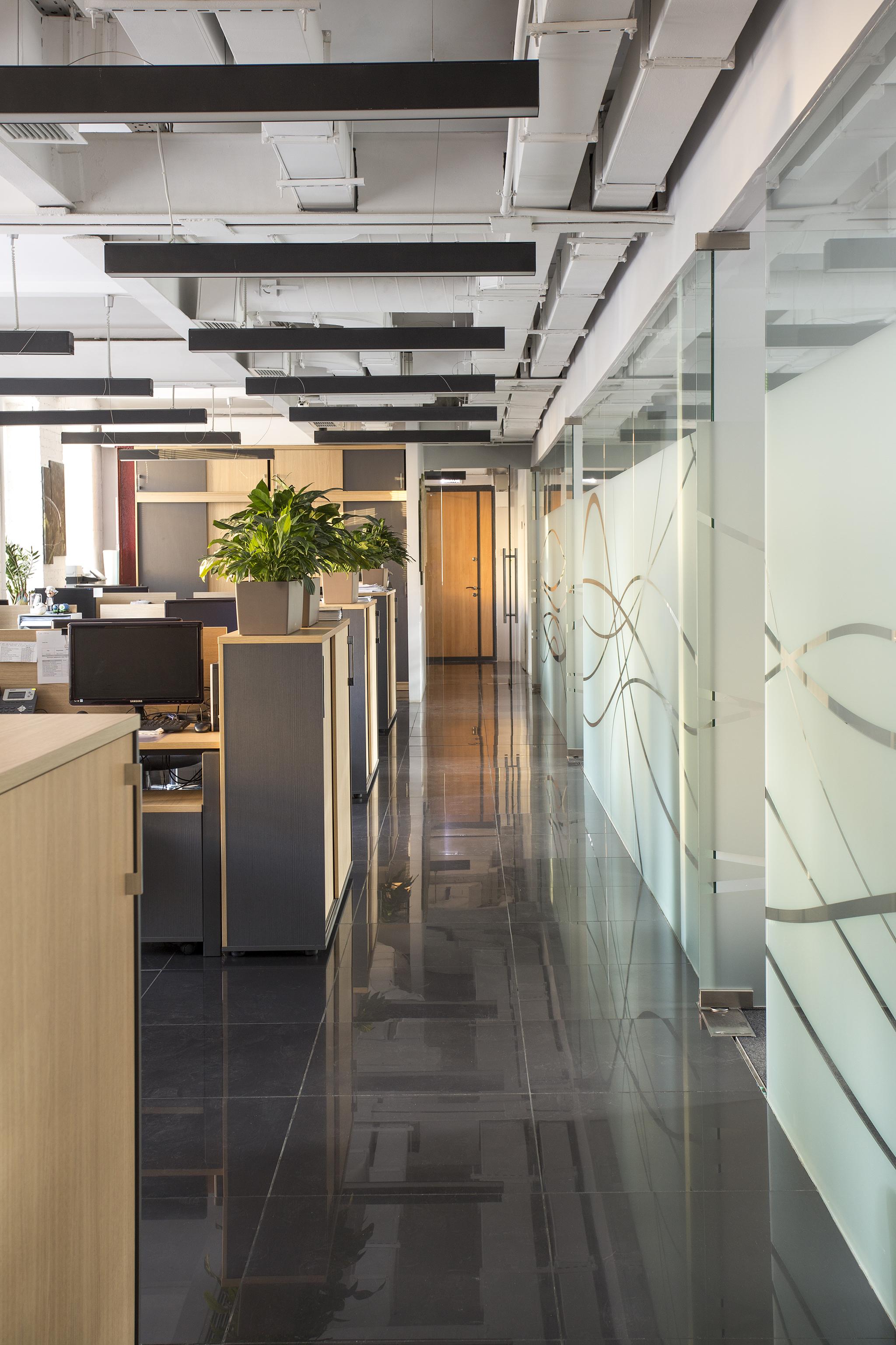 Общий вид рабочего пространства
