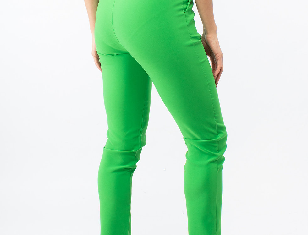Pantalón formal verde