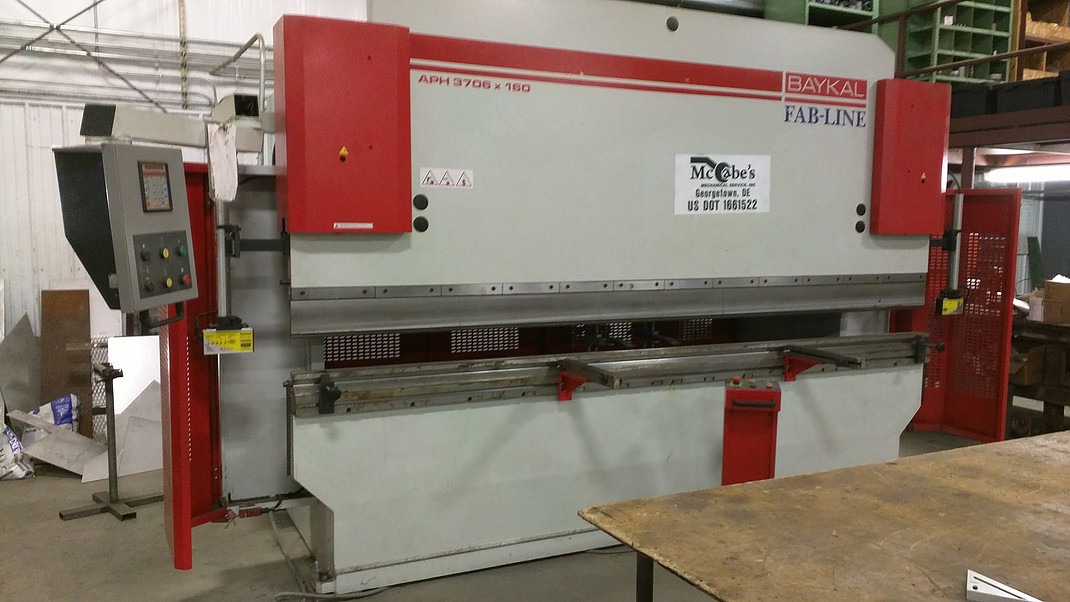 Press Break, Baykal Fab-Line, APH 3706 x 160 (1)