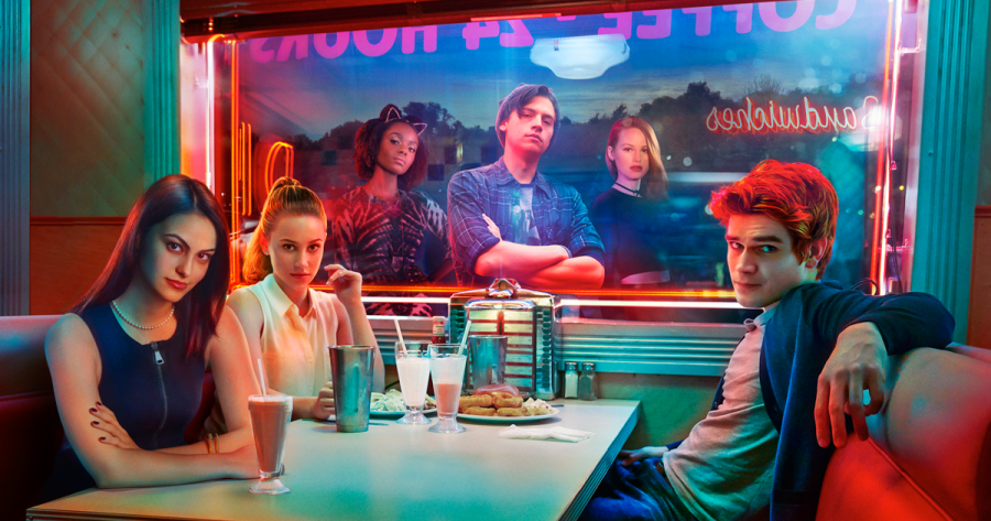 Intense neon colors in The CW's Riverdale