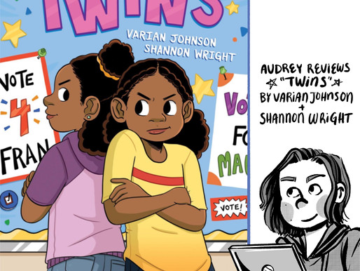 A comic review of Twins by Varian Johnson and Shannon Wright