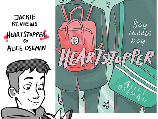 """A comic review of """"Heartstopper"""" by Alice Oseman"""