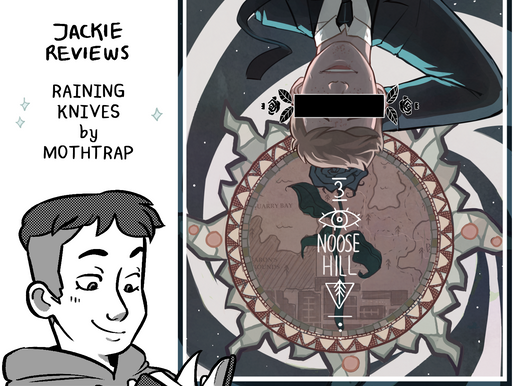 """A Comic Review of """"Raining Knives"""" by Mothtrap"""