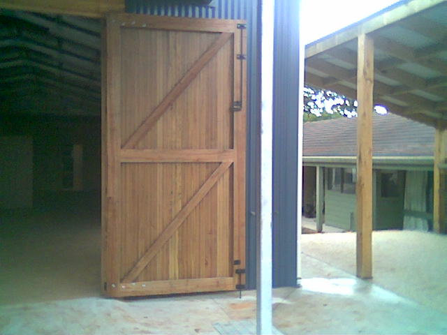 Barn Door Brace