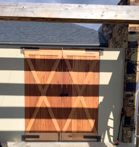 Garden doors - back
