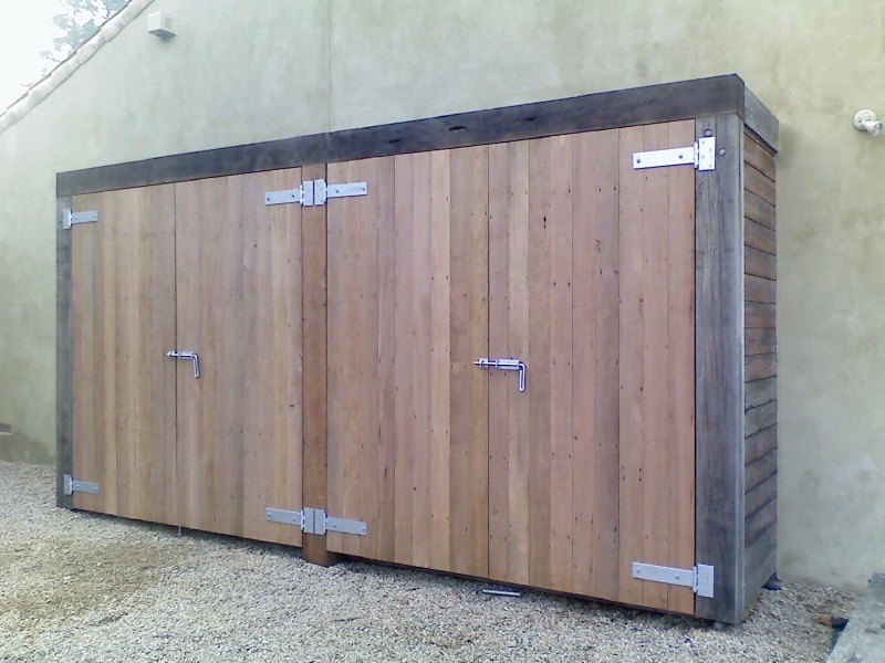 Barn Doors with Sliding Bolt