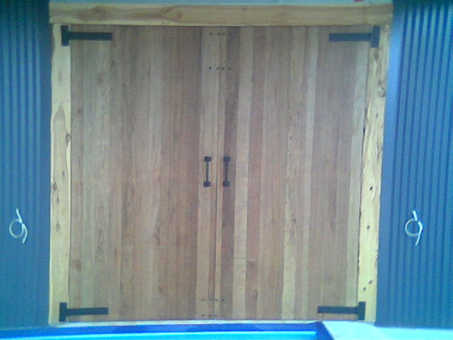 Barn Door Clad one side