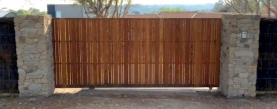 Timber clad Steel Slider