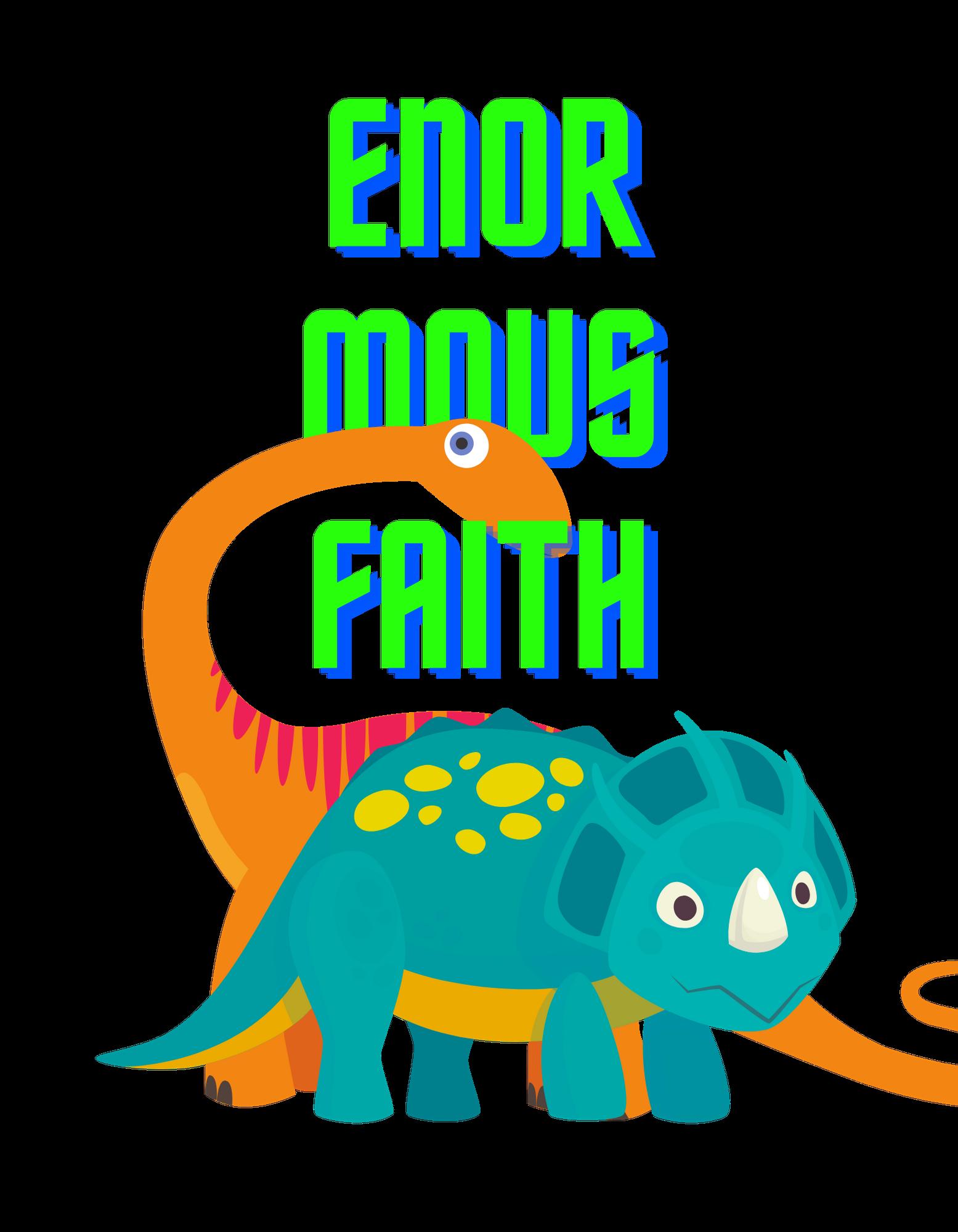 Enormous Faith (orange)