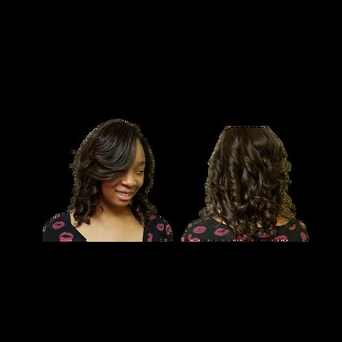 "24""Human Hair Wig"