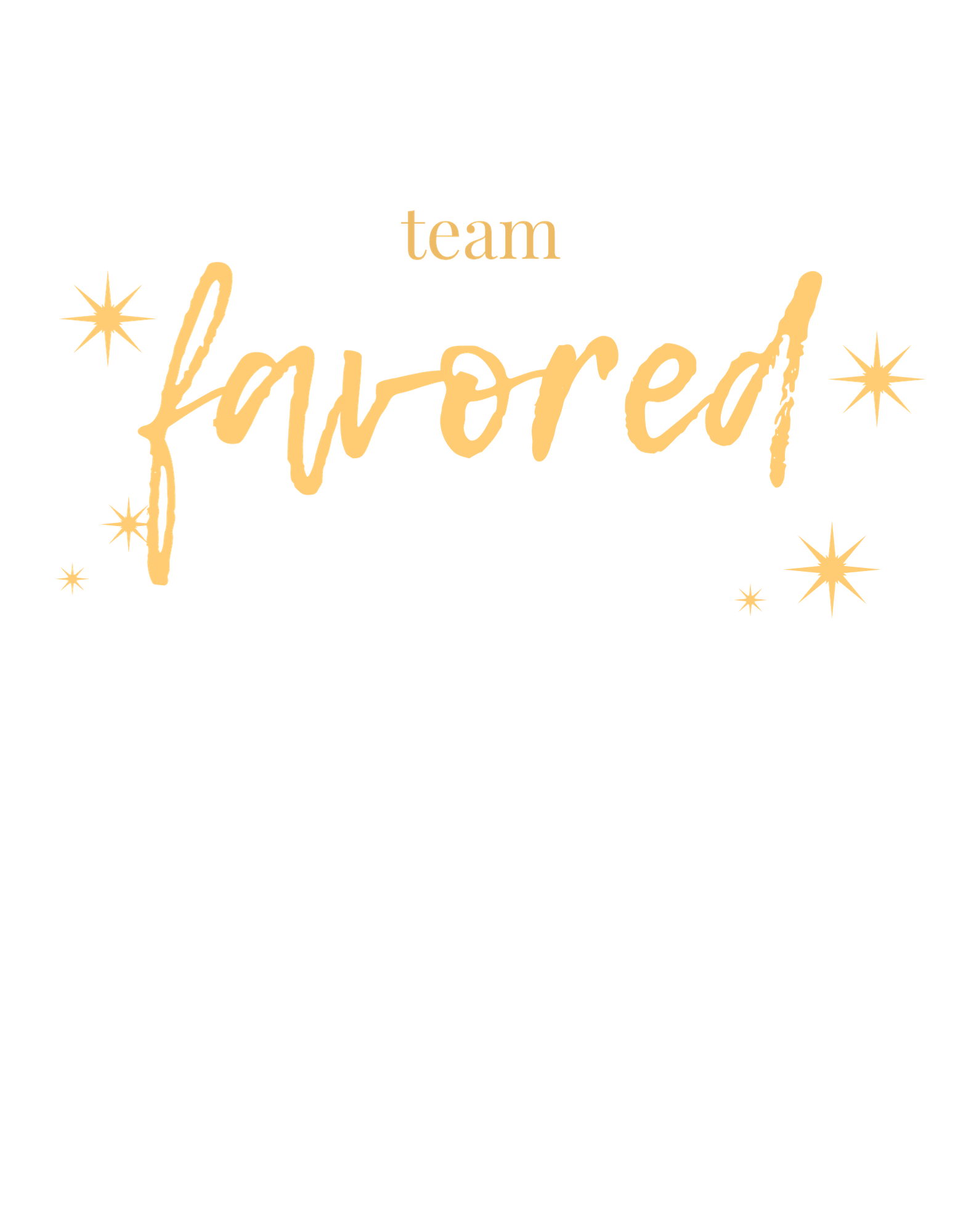 Team Favored (gold)