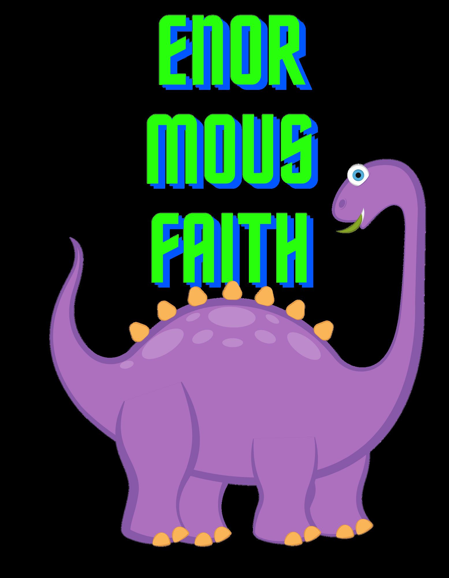 Enormous Faith (purple)