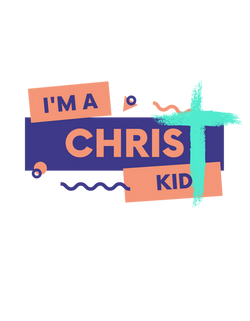 I'm a Christ Kid w/ cross