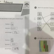 Luvena's Maths Work