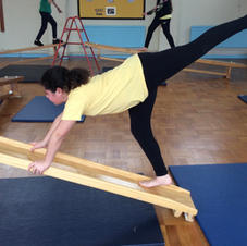 Brooklyn's Gymnastics Balance