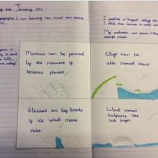 Eliza's Geography Work