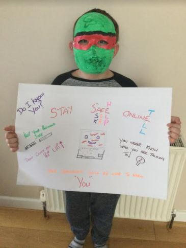Finley's Internet Safety Poster