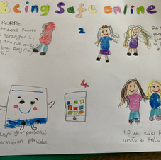 Marina's Internet Safety Poster