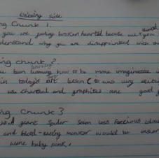 Evie-May's Writing