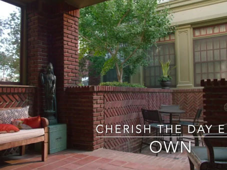 "Featured on OWN's ""Cherish The Day"""
