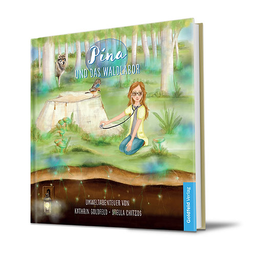 Pina und das Waldlabor (Hardcover)