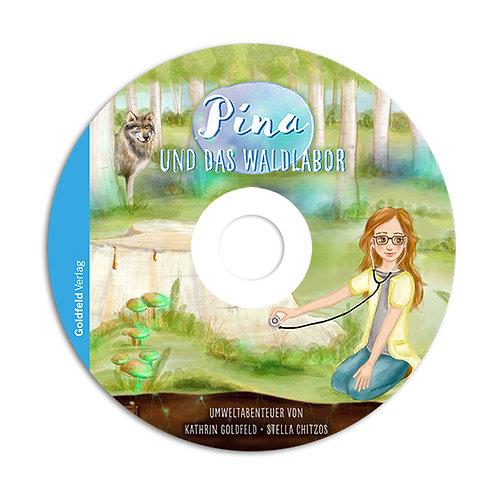 Pina und das Waldlabor-Hörbuch CD im Schuber