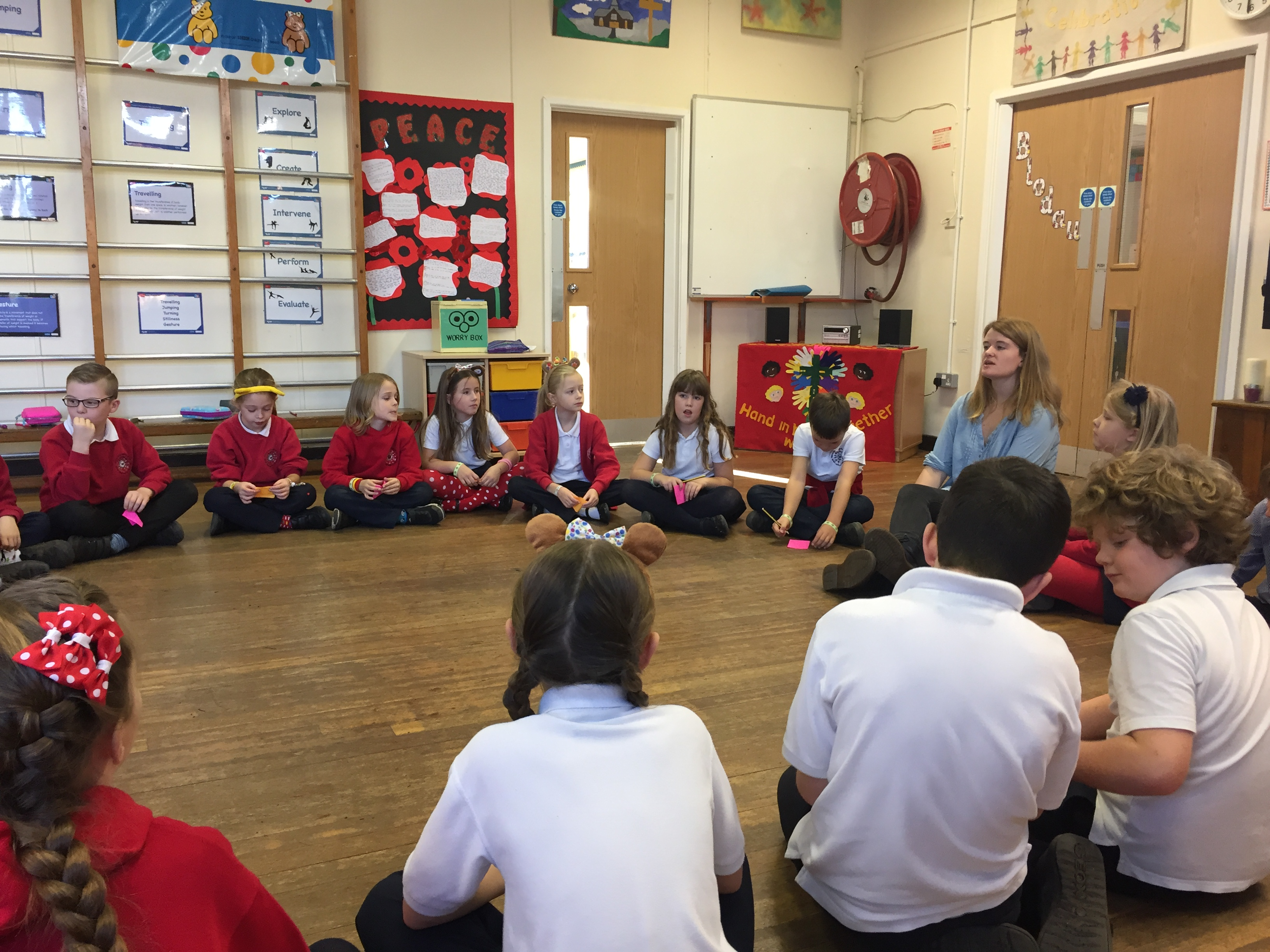 Working with Tamar the storyteller