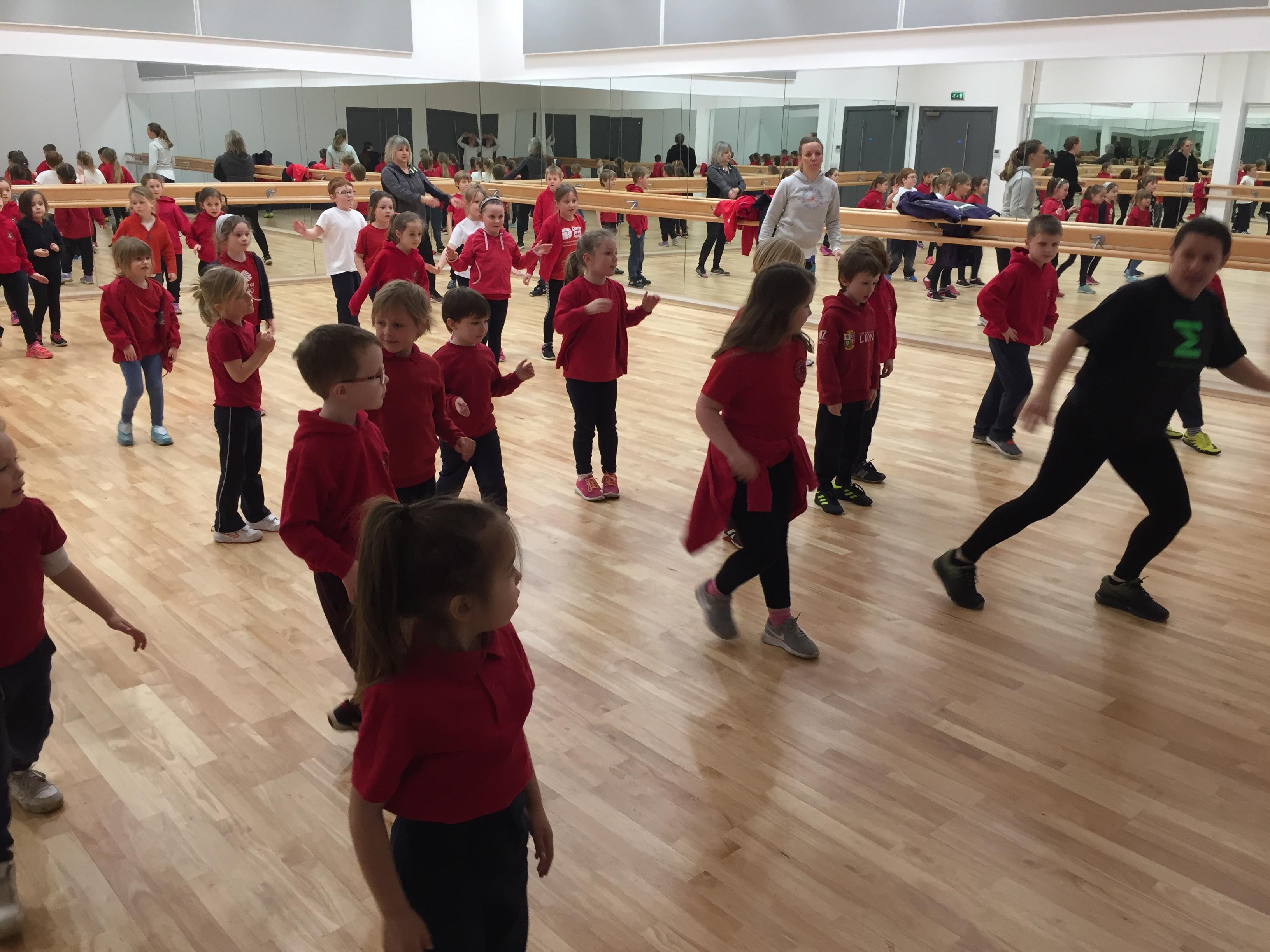Dancing at Atlantic College