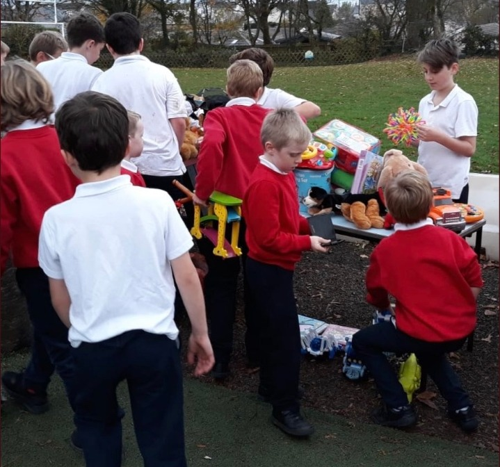 Enrichment 2 - selling old toys
