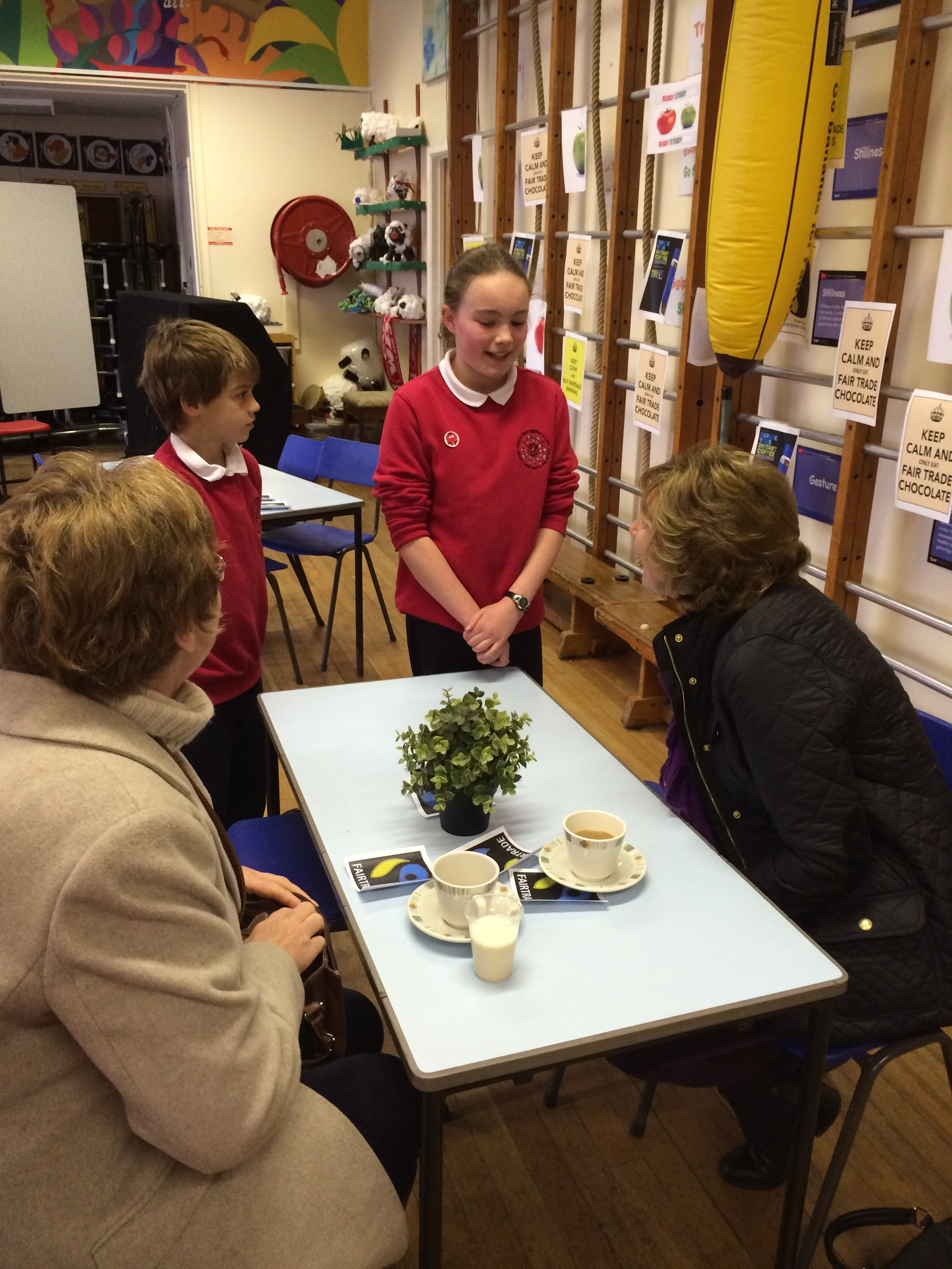 Discussing Fairtrade
