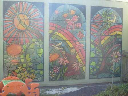 Our Spirituality Area Mural