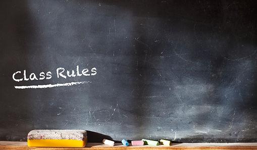 Nursery Meithrin Class Rules