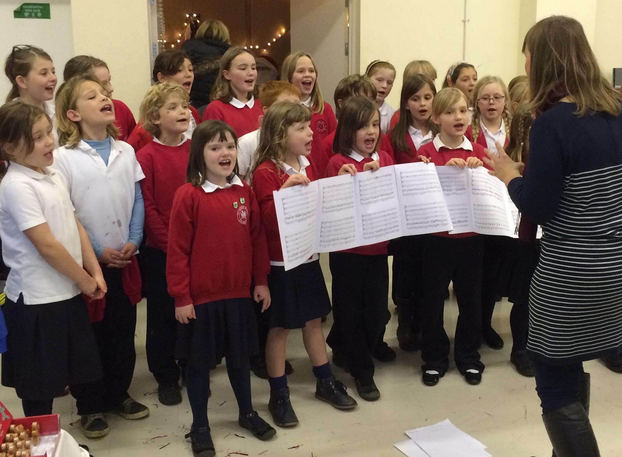 Choir at Christmas Fair
