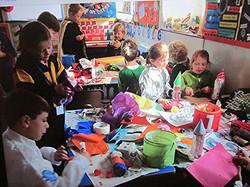 We enjoyed making rockets.