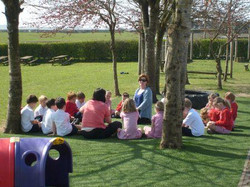 Outdoor Circle Times