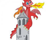 The-Dragon-Tower-TDT-0702-Free-vector-cl