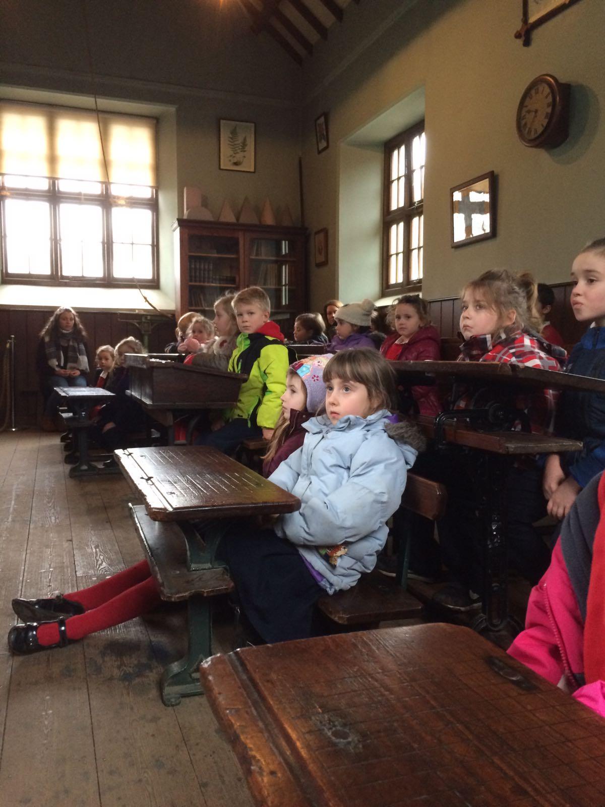 'Olden days school' is not much fun!